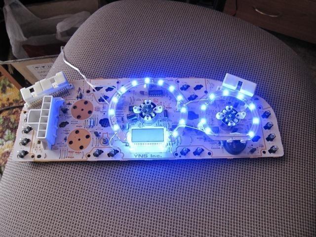 Светодиоды для панели приборов своими руками 54