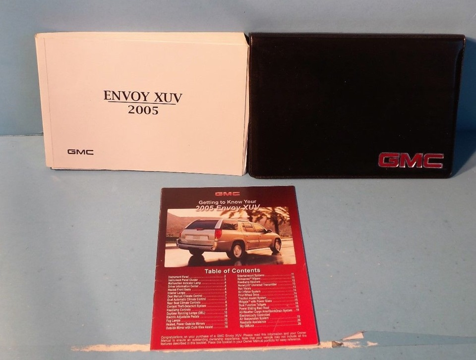 gmc envoy 2004 owners manual pdf