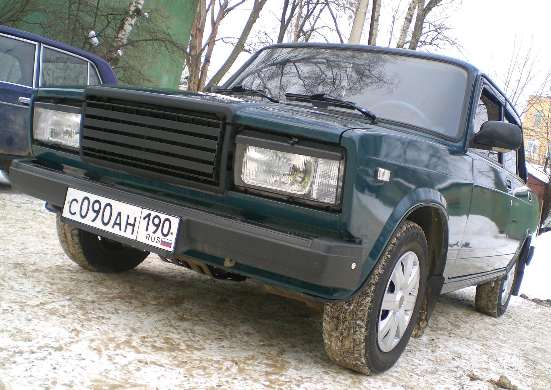Лада 2107 Фото (14.02.10)