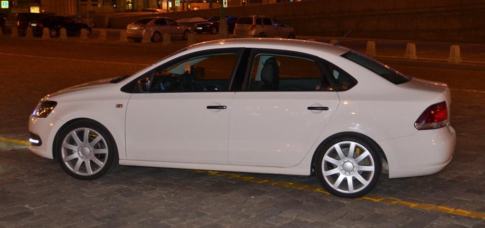 eibach pro-kit на volkswagen polo sedan
