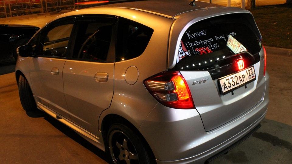 Хонда фит тюнинг фото