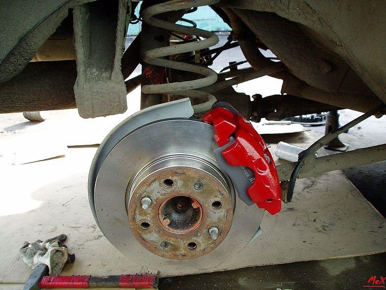 Как сделать задние дисковые тормоза на ваз 2108