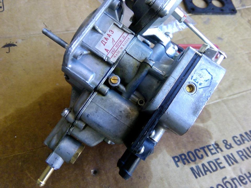 d55a87cs 960 - Установка газового оборудования на автомобиль карбюратор