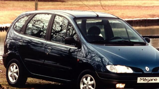 технические характеристики renault scenic 1996-1999 г.в.