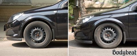 Opel Astra передняя подвеска.