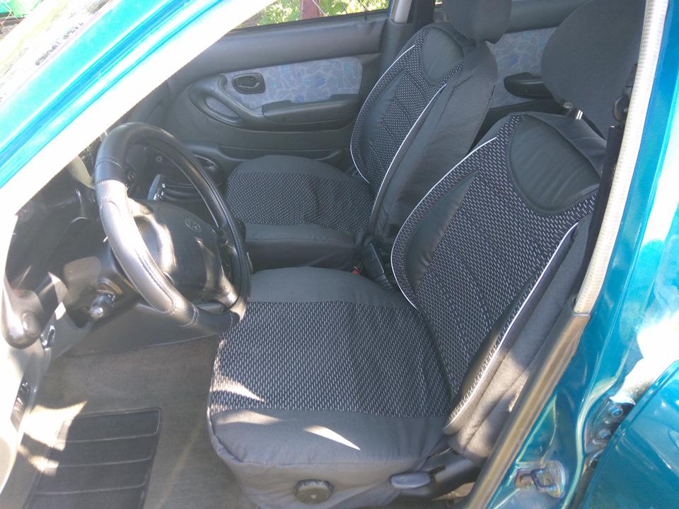 Чехлы на сидения — бортжурнал Hyundai Accent 1.5 GLS 1995 года на DRIVE2 0fca977ee0924