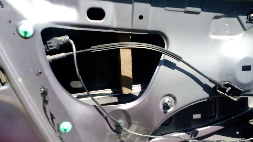 Ремонт стеклоподъёмника