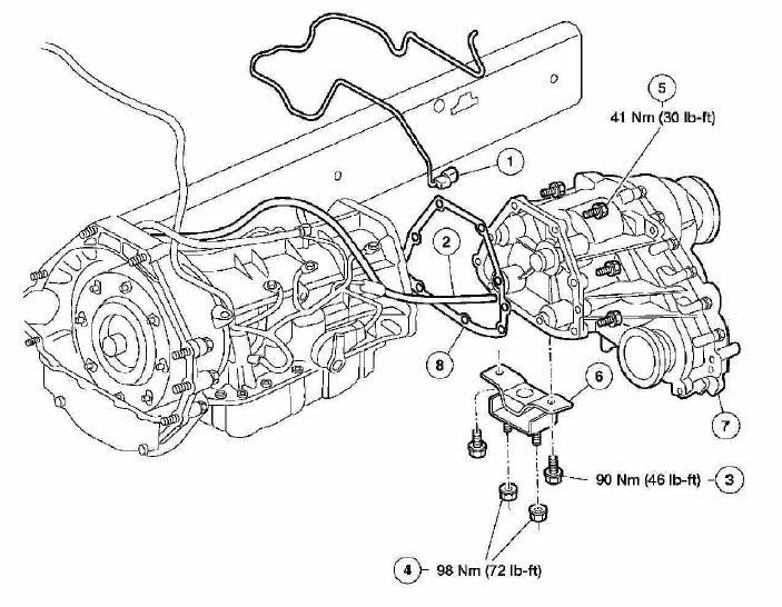 Схема форд эксплорер 3