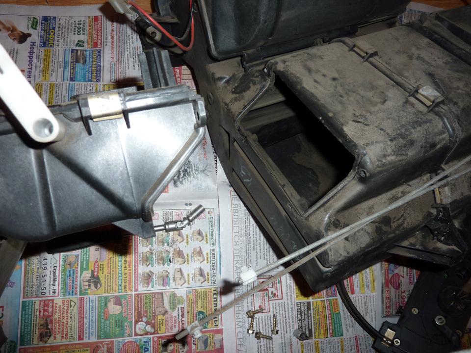 Газель печка ремонт своими руками