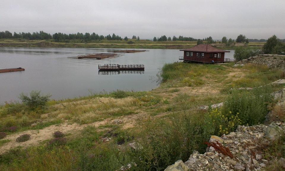 Рыбалка в Челябинской области — Карьер Бирюзовый