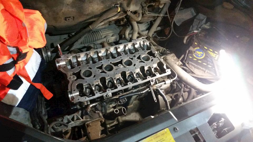 Ремонт двигателя приора своими руками