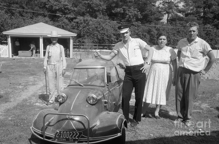 И у Элвиса тоже был Messerschmitt
