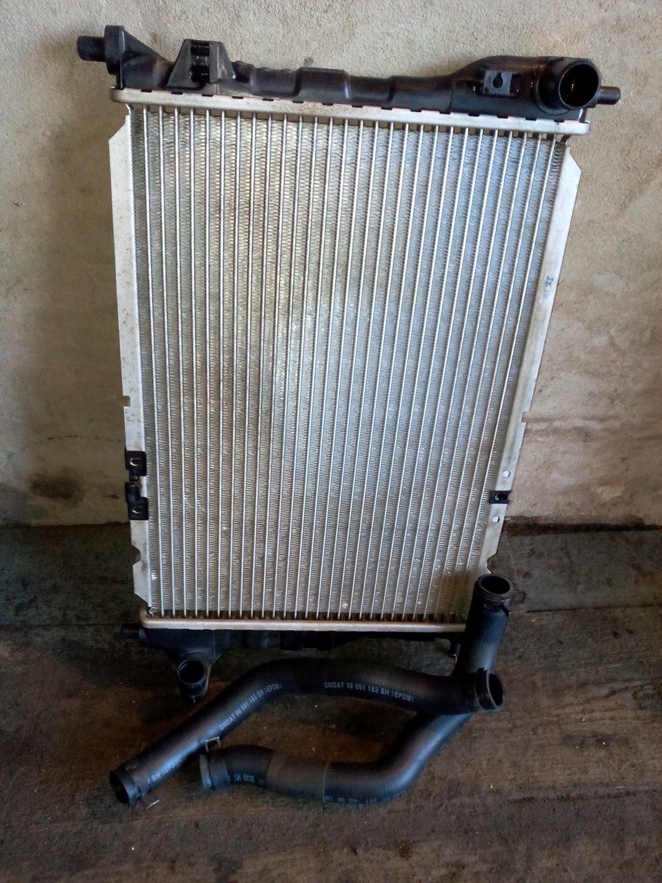 схема системы охлаждения двигателя автомобиля тико