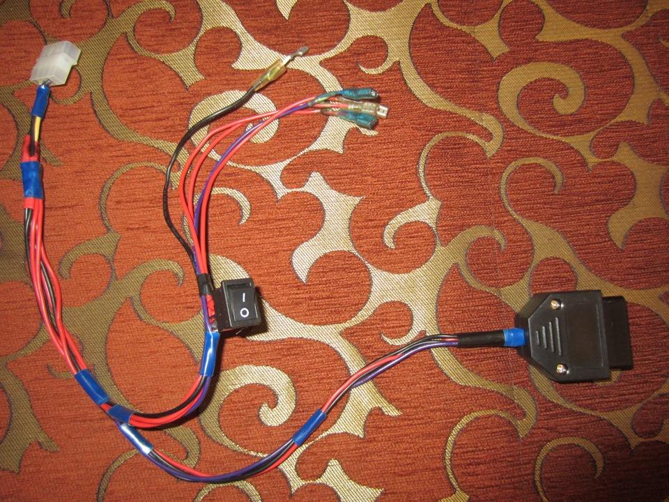Как сделать кабель и прошить эбу Январь 5.1 своими руками