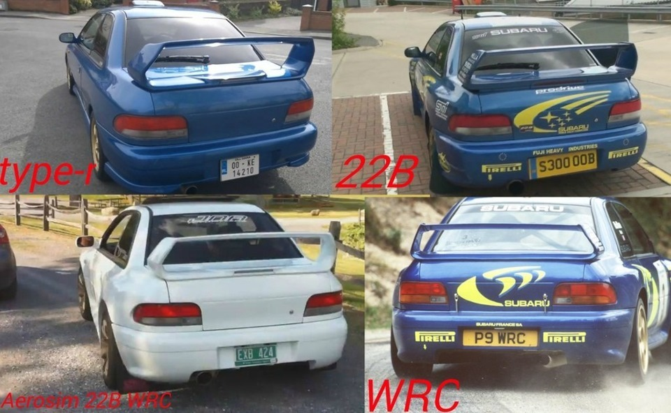 22b Coupe Body Kit