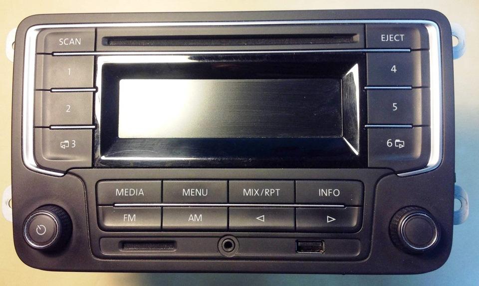 vwvortex com upgraded to vw rcn 210 bluetooth enabled radio rh forums vwvortex com VW Transporter Manual VW User Manual