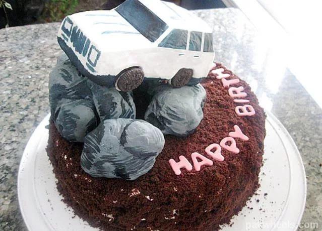 картинки внедорожников на день рождения ещё