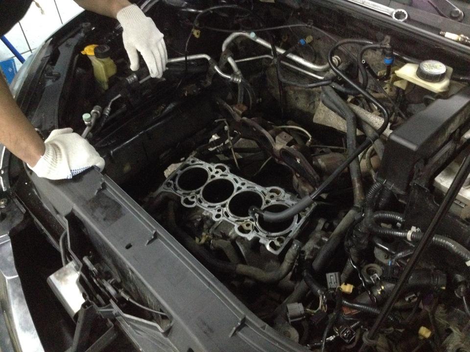 Капитальный ремонт двигателя мазда 6 своими руками