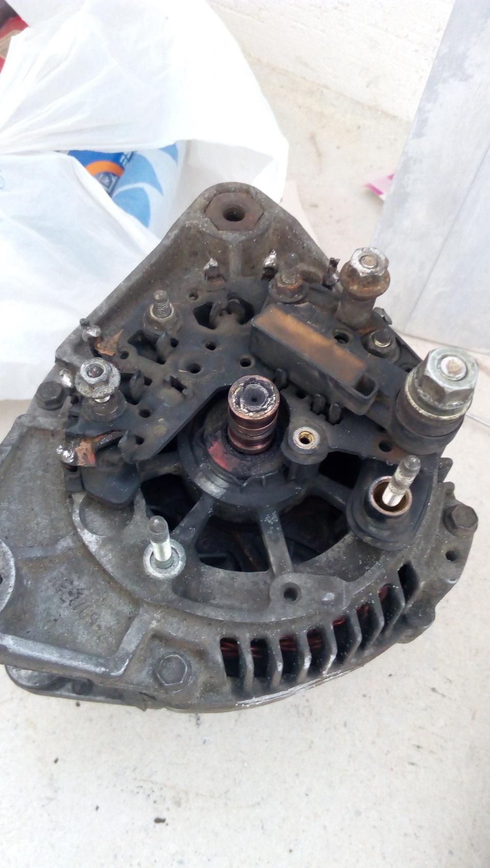 ремонт генератора 80а valeo от bmw