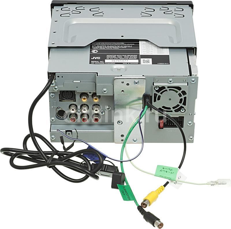 Купил магнитолу JVC KW-AV50EE
