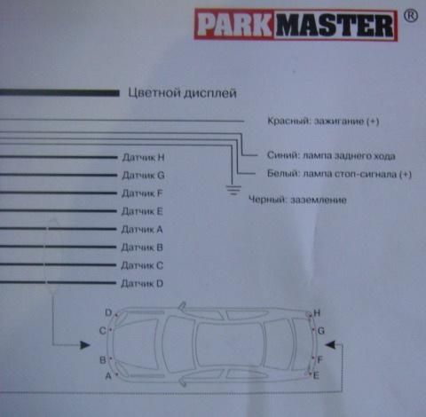 Parkmaster 10r-02 2271 схема