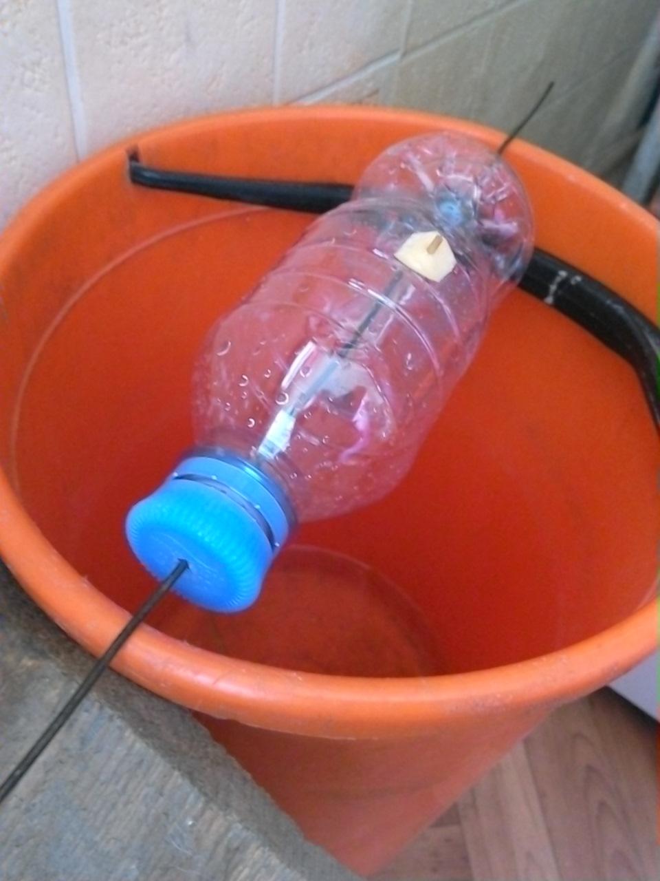 Как сделать мышку из пластиковых бутылок? 61
