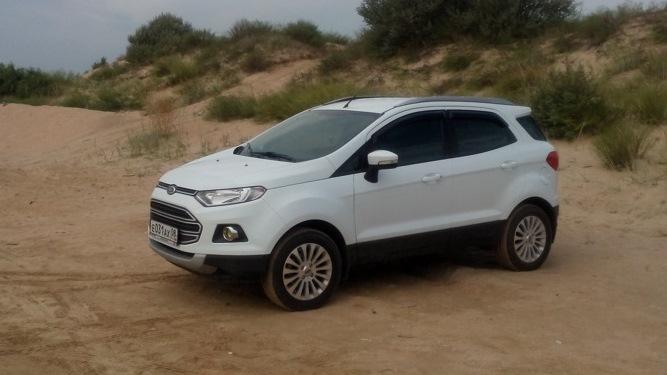 экоспорт форд белый фото