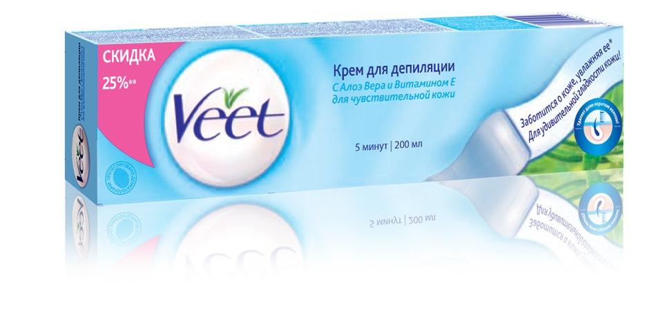 Крем для депиляции интимных зон veet цена отзывы