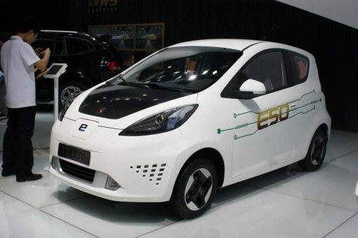 китайские электромобили цена