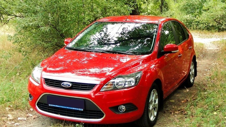 красная зона на ford focus 2