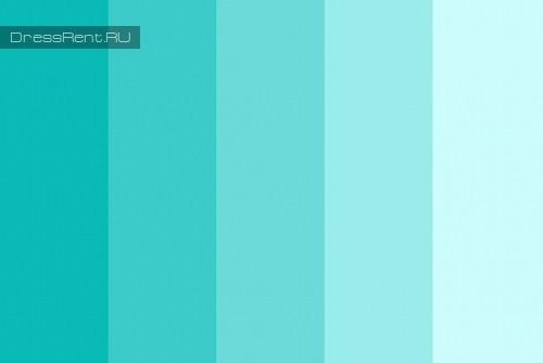 Тиффани мятный цвет