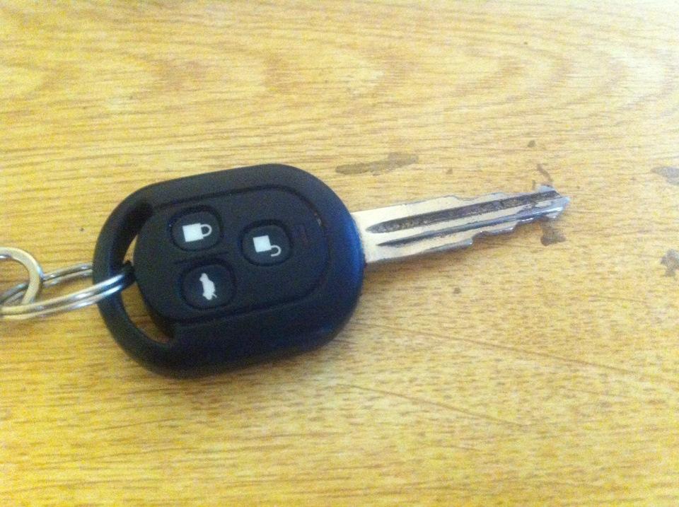 замена ключа chevrolet lacetti раскладной ключ