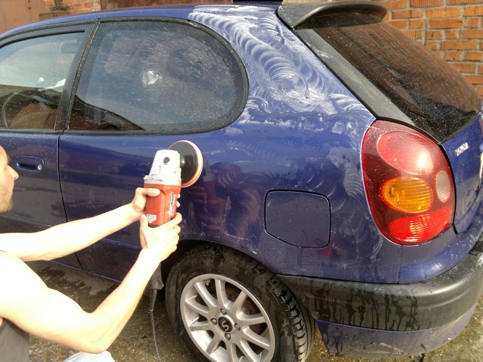 Как полировать машину своими руками машинкой