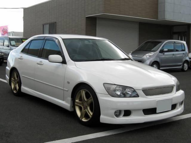 Toyota altezza rs qualitat