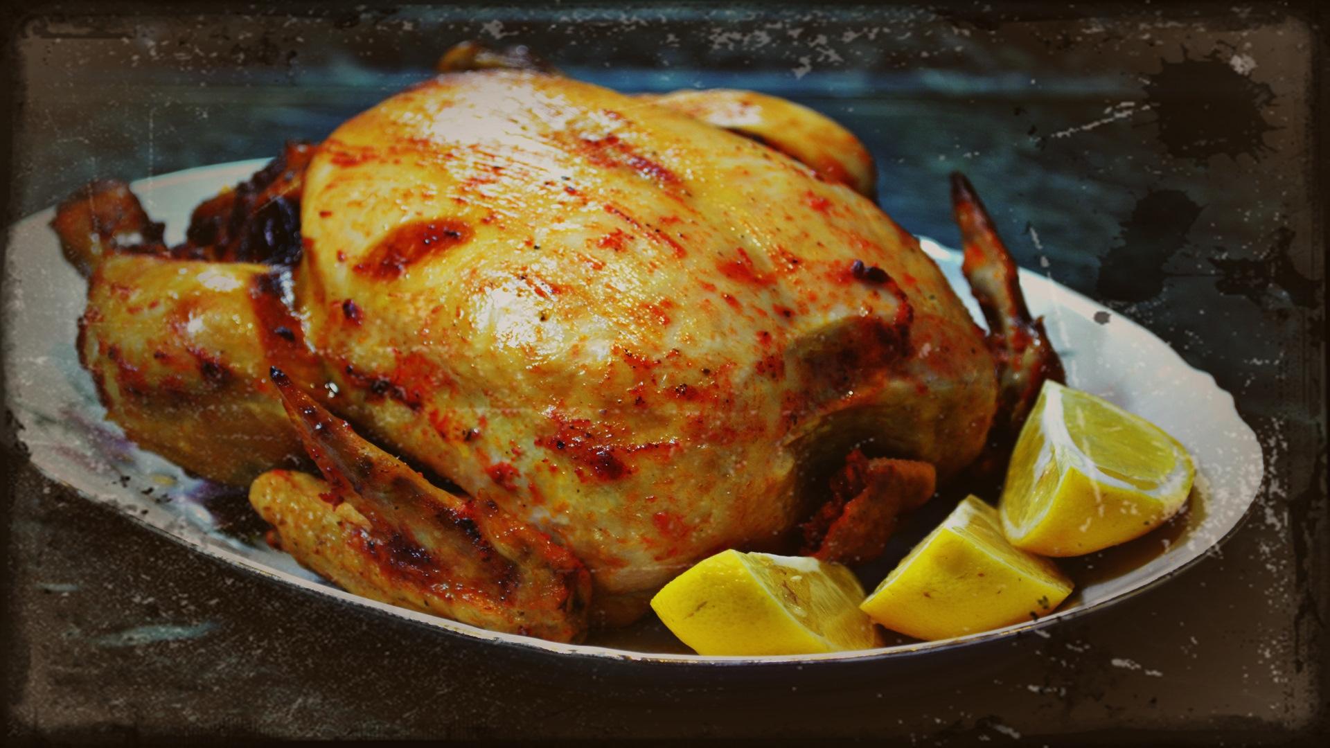 Запечь цыпленка в духовке целиком рецепт пошагово