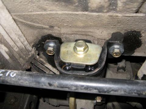 Фото №13 - подушка коробки передач ВАЗ 2110