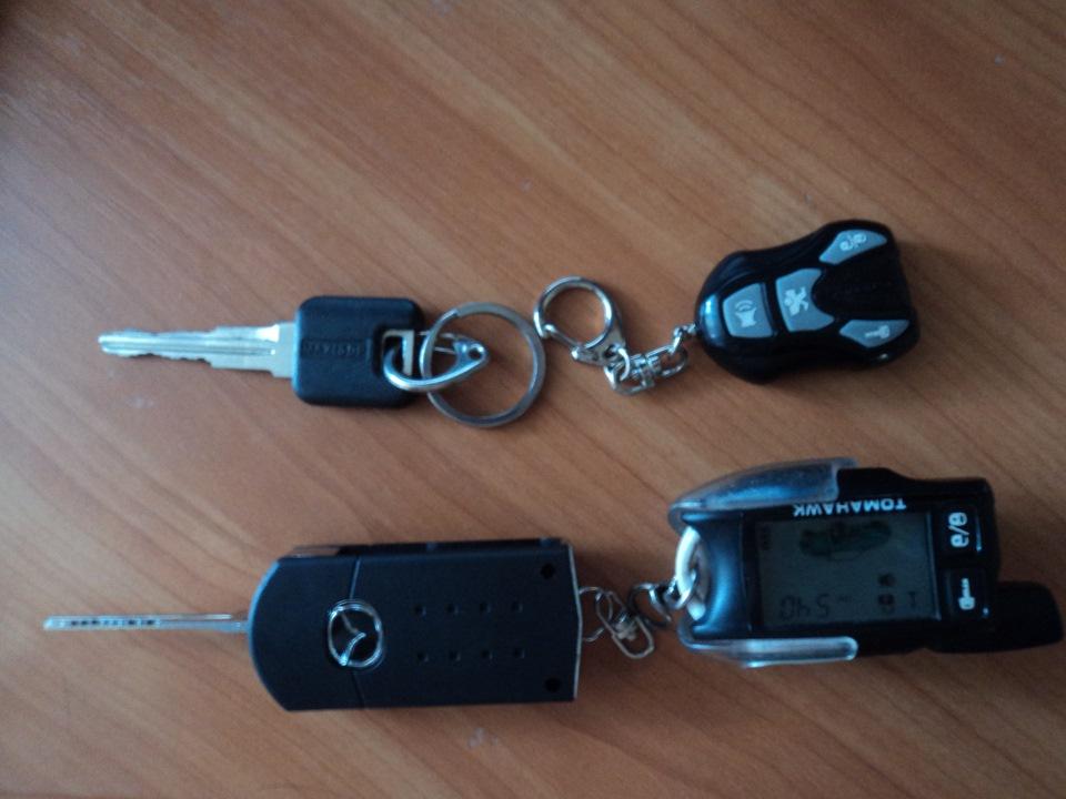 выкидные ключи mazda