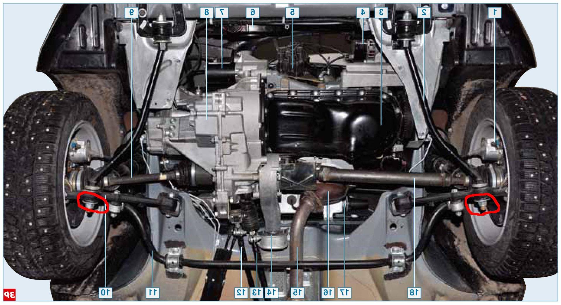 Задняя подвеска ларгуса схема