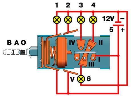 Схема подключения центрального переключателя света фото 47