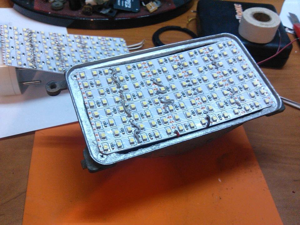 Как сделать противотуманки из светодиодов