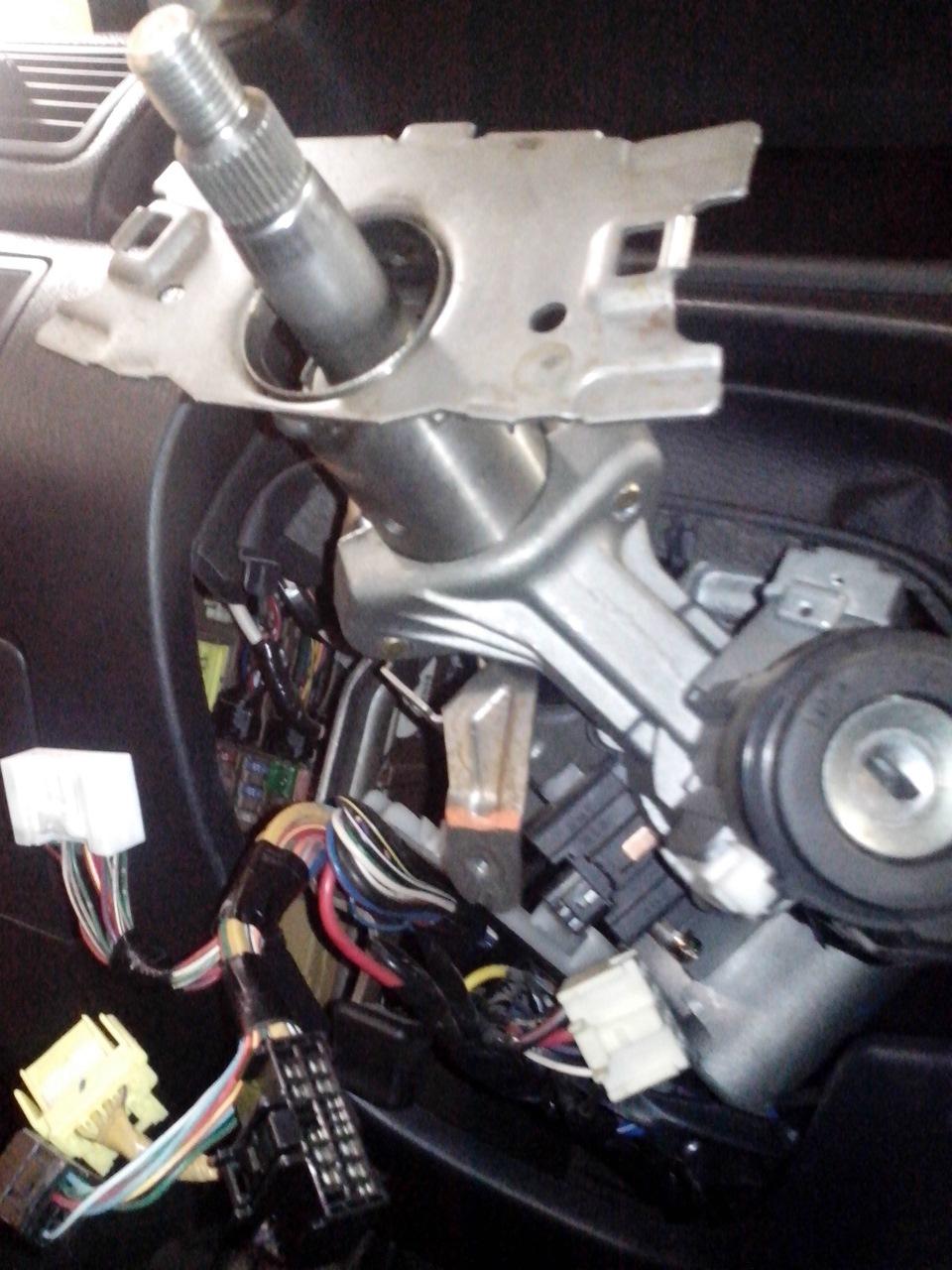 Замена рулевой машинки королла 120 Установка и замена гофры глушителя пежо 407