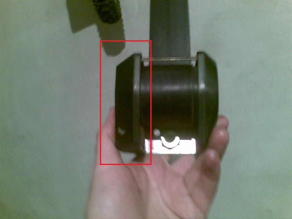 Фото №13 - ремонт ремня безопасности ВАЗ 2110
