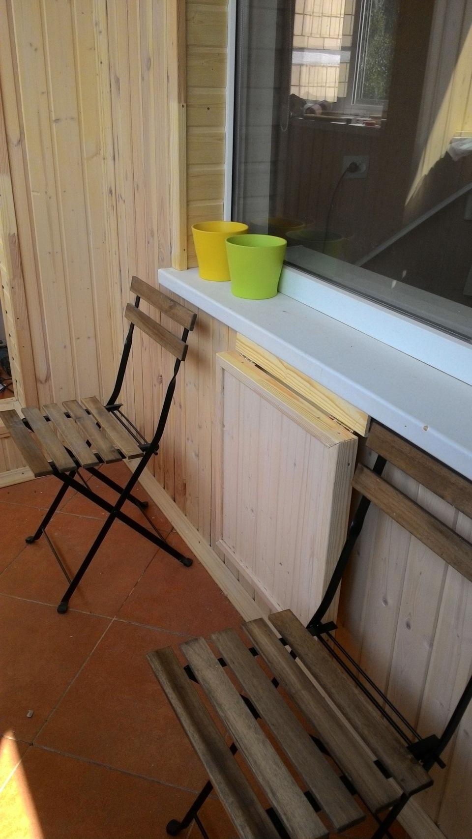 Складной столик на балкон: тырим патент у ikea - сообщество .