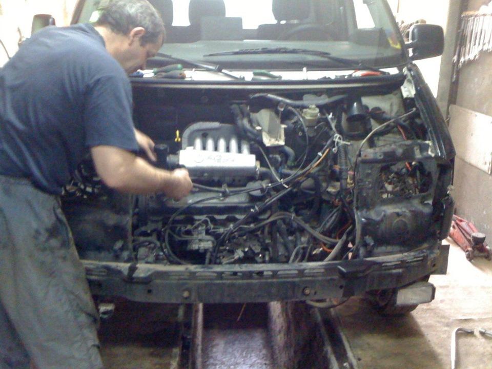 Капитальный ремонт двигателя транспортера т4 саратовская оао элеватор