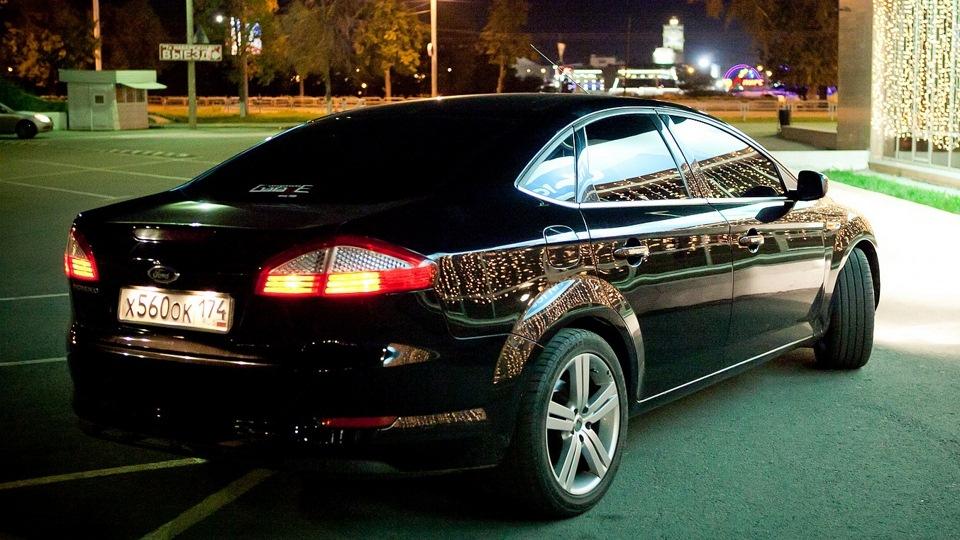Форд мондео черный фото