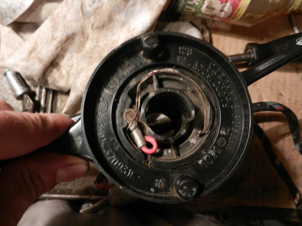 Ремонт подрулевого переключателя ваз 2107