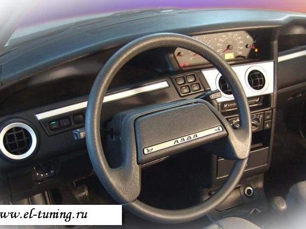 Фото №25 - панель приоры на ВАЗ 2110