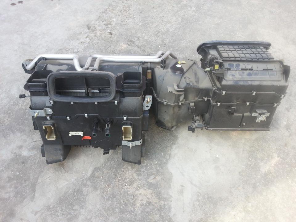 замена радиатора печки мерседес 210 видео фото