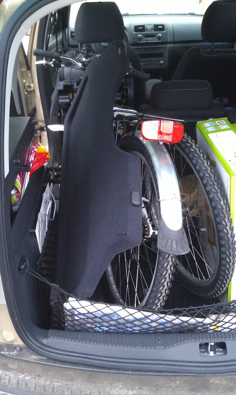 велосипед skoda 2011 года