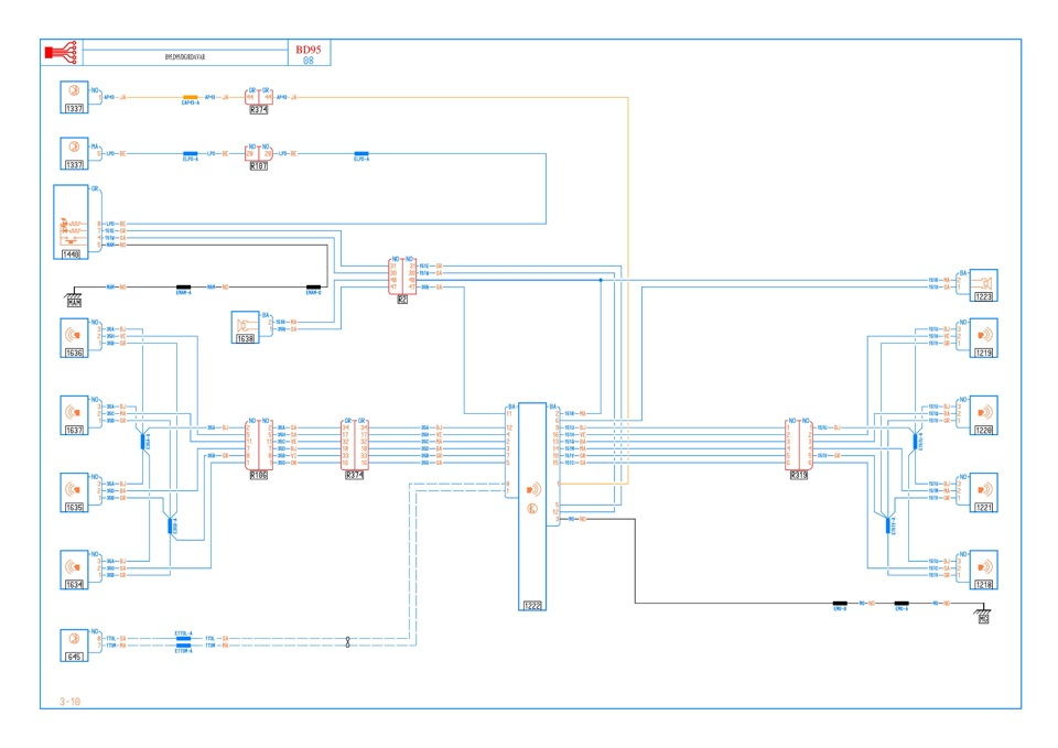 Схема электрической части